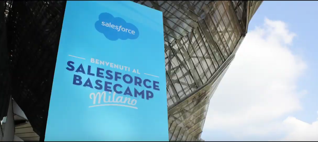 Salesforce Basecamp 2019, Milano. Save the date!